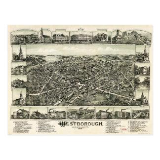 Westborough Massachusetts (1888) Postcard