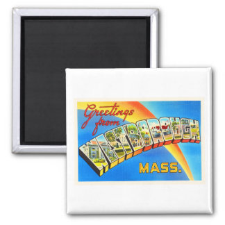 Westborough Massachusetts MA Old Travel Souvenir Magnet