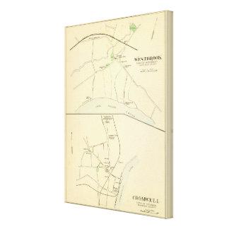 Westbrook, Cromwell Impresión En Lienzo