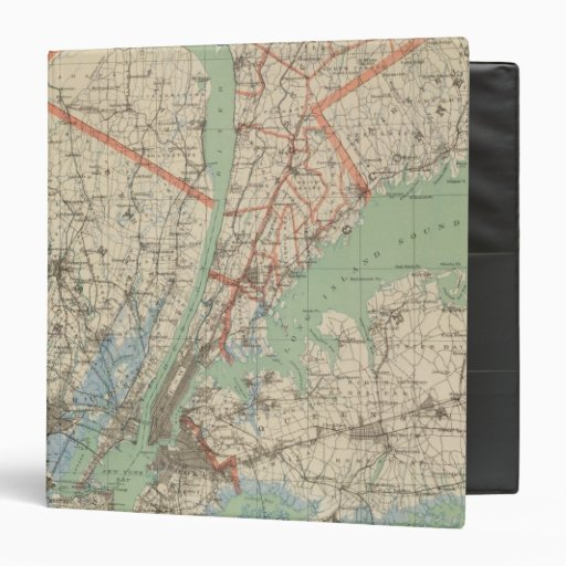 Westchester Co & surroundings 3 Ring Binder