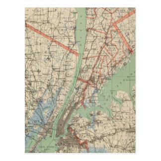 Westchester Co & surroundings Postcard