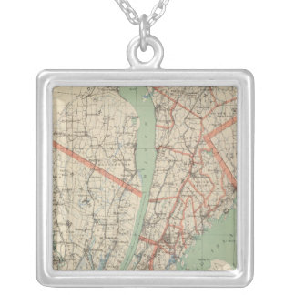 Westchester Co & surroundings Silver Plated Necklace