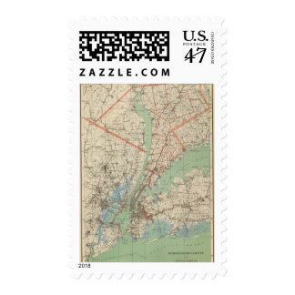 Westchester Co & surroundings Stamp