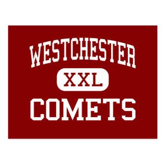 Westchester - Comets - High - Los Angeles Postcard