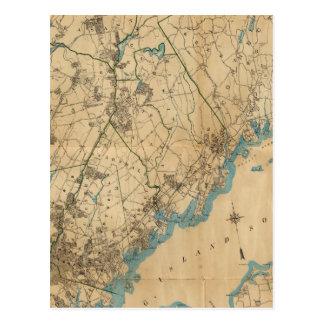 Westchester County, New York 2 Postcard