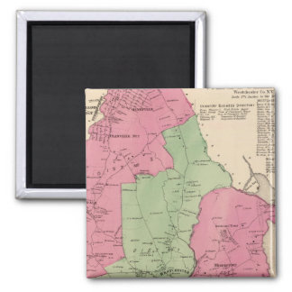 Westchester, NY 2 Inch Square Magnet