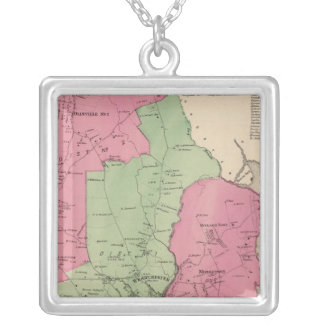 Westchester, NY Square Pendant Necklace