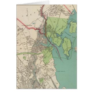 Westchester, Pelham towns Card