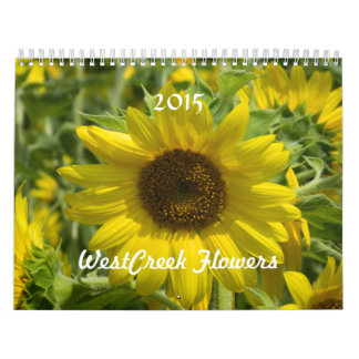 WestCreek Flowers Calendar