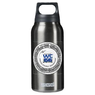 Westercon 66 Decoder Wheel Insulated Water Bottle