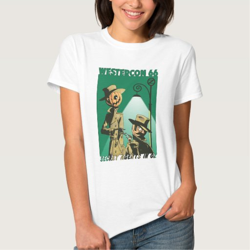 "Westercon 66 Official ""Secret Agents in Oz"" Tops"