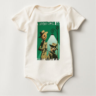 "Westercon 66 Official ""Secret Agents in Oz"" Tops Baby Creeper"