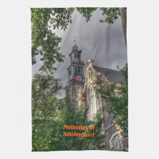 Westerkerk Church, Memories of Amsterdam Towel