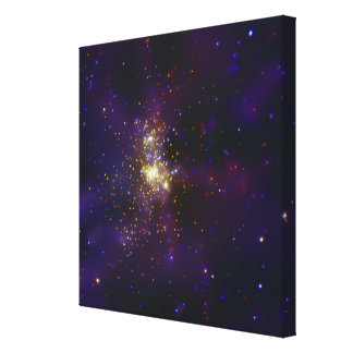 Westerlund 2, a young star cluster canvas print