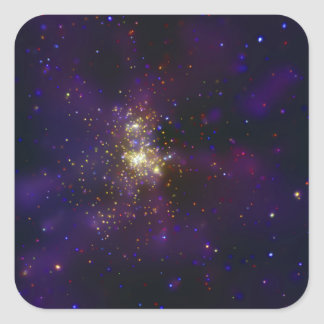 Westerlund 2, a young star cluster square sticker