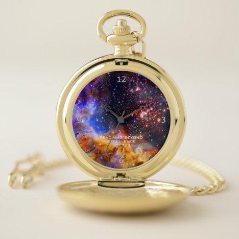 Westerlund 2 in Carina Constellation Space Picture Pocket Watch