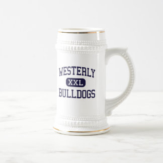 Westerly - Bulldogs - High - Westerly Rhode Island Beer Stein