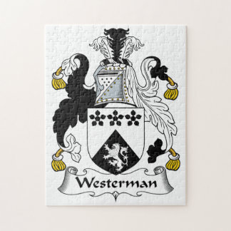 Westerman Family Crest Jigsaw Puzzles