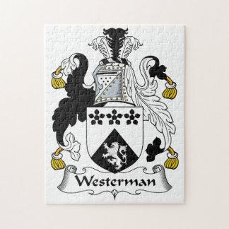 Westerman Family Crest Puzzle