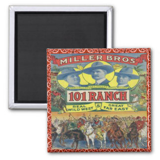 Western 101 Ranch Cowboys Magnet