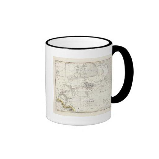 Western Africa Ringer Coffee Mug