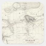 Western Africa Square Sticker