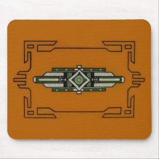 Western Art Deco ~ mousepad