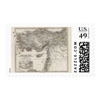 Western Asia and Syria Postage Stamp