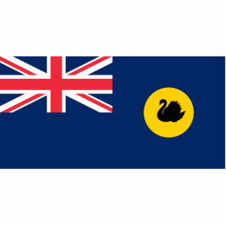 Western Australia, Australia flag Photo Cutouts