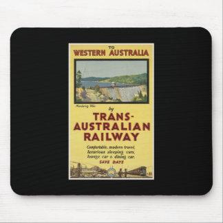 Western Australia by Trans-Australian Railway Mousepad