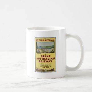 Western Australia by Trans-Australian Railway Coffee Mugs
