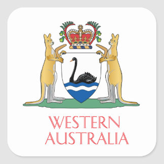 Western Australia coat of arms Stickers