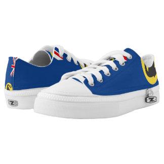 Western Australia Flag --.png Low-Top Sneakers