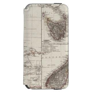 Western Australia Tasmania and New Zealand iPhone 6/6s Wallet Case