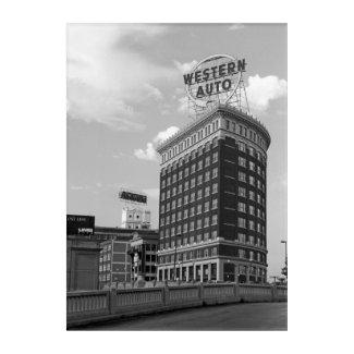 Western Auto Building Acrylic Wall Art