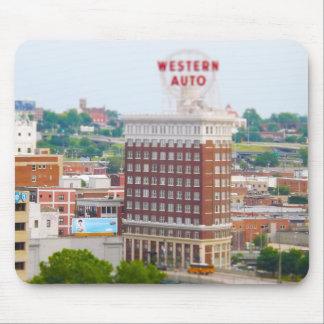 Western Auto Building Loft Condos Kansas City Mouse Pad