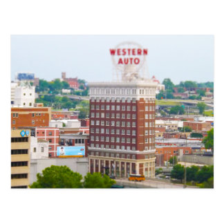 Western Auto Building Loft Condos Kansas City Postcard