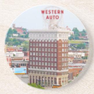 Western Auto Building Loft Condos Kansas City Sandstone Coaster