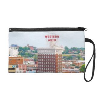 Western Auto Building Loft Condos Kansas City Wristlet Purse