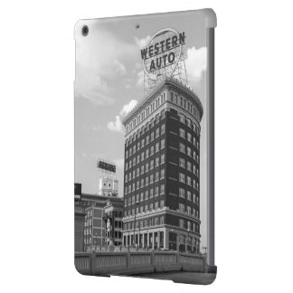 Western Auto Half Cylinder Building iPad Air Covers