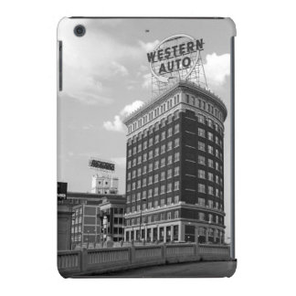 Western Auto Half Cylinder Building iPad Mini Case
