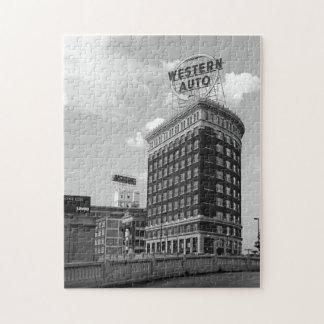 Western Auto Half Cylinder Building Jigsaw Puzzle
