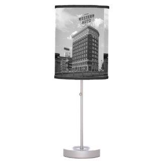 Western Auto Half Cylinder Building Desk Lamp