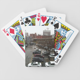 Western auto sign Kansas City Bicycle Playing Cards