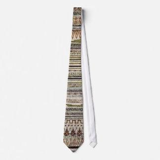 Western Aztec Silky Mens Neck Tie