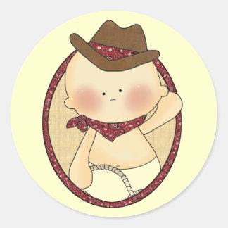 Western Baby Lil' Cowpoke Fun Stickers