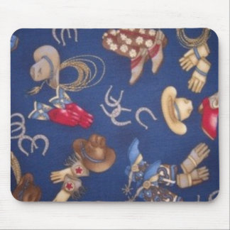 Western Boots & Hats Mouse Pad