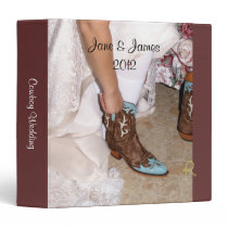 Western Bride Wedding Binder