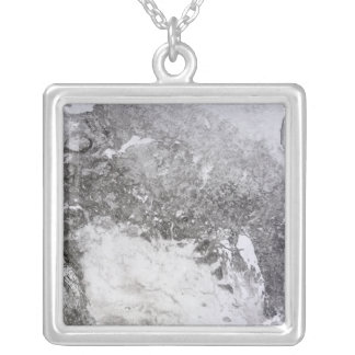Western Canada Square Pendant Necklace