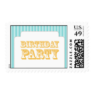 Western Carnival - Birthday Party - BY BP Stamp